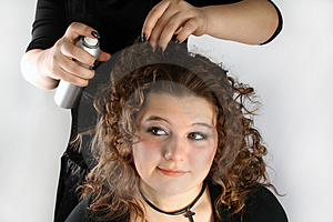 Hair Design Royalty Free Stock Photo