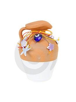 Creative Handmade Vase Stock Image - Image: 4085881