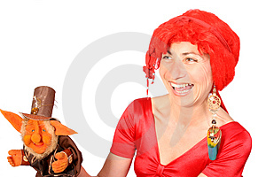 Ventriloquist Royalty Free Stock Photos - Image: 4086308