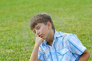 Day Dreaming Stock Photos - Image: 4088933