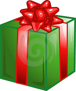 Present Icon Or Symbol Royalty Free Stock Photography - Image: 4089047