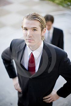 Businessmen Royalty Free Stock Image - Image: 4091226