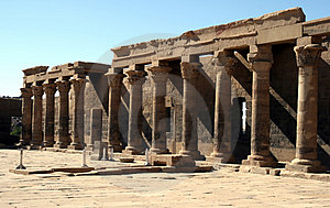 Temple Of Philae. Stock Photography - Image: 4092232