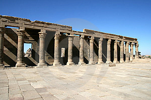 Temple Of Philae. Stock Photo - Image: 4092240