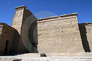 Temple Of Philae. Stock Photography - Image: 4092242