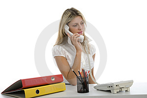 Business Woman  Working Stock Photos - Image: 4092503