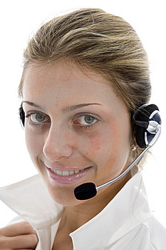 Business Woman Calling Stock Images - Image: 4092564