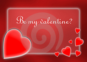 Valentine's Day Card Royalty Free Stock Photos - Image: 4094438