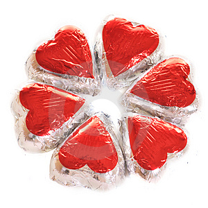 Circle Of Hearts Stock Photos - Image: 4095393