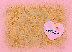 Don't Forget Valentine's Day! Royalty Free Stock Images - Image: 4097759