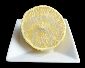 Half A Lemon Stock Photo - Image: 419570