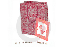Valentine's Gift Heart Stock Photos - Image: 4103943