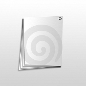 Paper Note Pad Royalty Free Stock Image - Image: 4105446