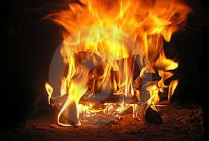Flame Stock Photos - Image: 4106273