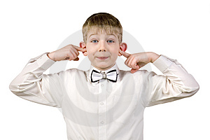 The Boy In A Business Suit Stock Photos - Image: 4106663