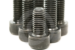 Black Bolts Royalty Free Stock Images - Image: 4112049