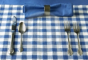 Table Setting Royalty Free Stock Photo - Image: 4115765