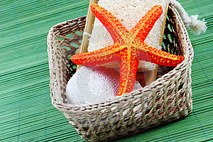 Spa And Beauty Products Royalty Free Stock Photos - Image: 4121078