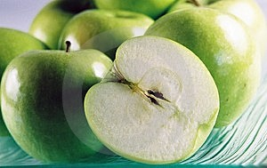 Green Apples Royalty Free Stock Image - Image: 4121246
