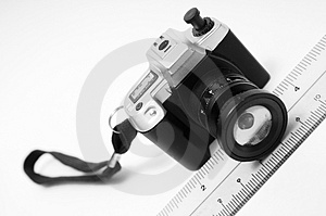Miniature Camera Stock Photography - Image: 4122162