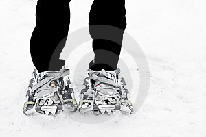 Snowshoes Stock Photos - Image: 4126033