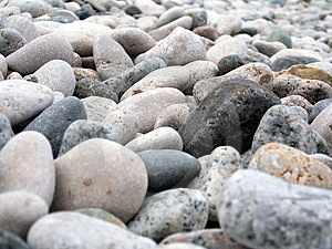 Beach Gravel Royalty Free Stock Photography - Image: 4126707