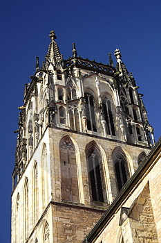 Church In Munster Royalty Free Stock Images - Image: 4131149