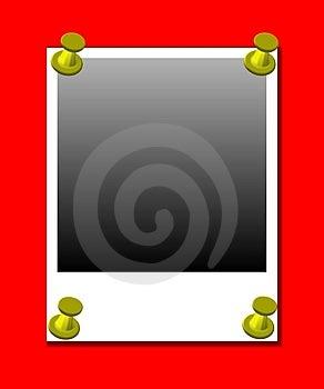 Polaroid Blank Photos Stock Images - Image: 4132484