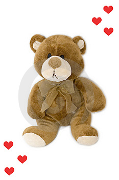 Sad Teddy Bear Stock Photo - Image: 4132720
