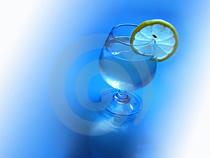 Ice Lemon Cocktail Royalty Free Stock Photography - Image: 4136957