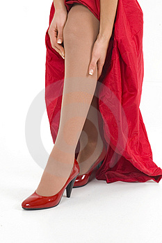 Red Shoes Stock Images - Image: 4139064