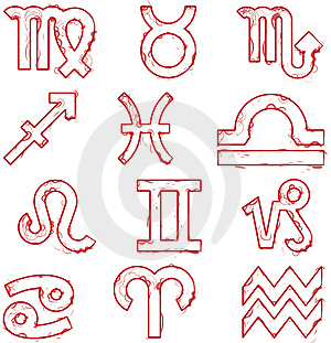 Signs Of The Zodiac Royalty Free Stock Photo - Image: 4145105