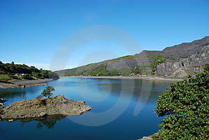 Llyn Peris 01 Royalty Free Stock Photography - Image: 4146057