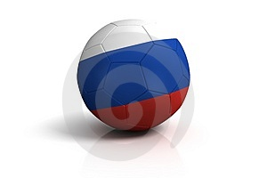 Football Russia Stock Image - Image: 4146071