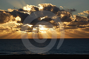 Sunset Royalty Free Stock Images - Image: 4148319
