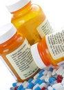 Medication Warning Stock Photography