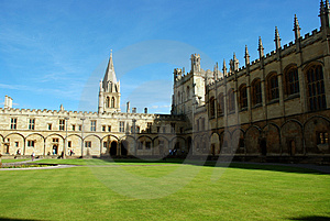 Christ Church Royalty Free Stock Photography - Image: 4152147