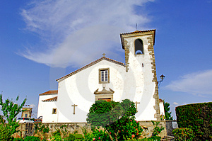 Portugal, Area Of Alentejo, Marvao: Old Church Royalty Free Stock Photo - Image: 4157435