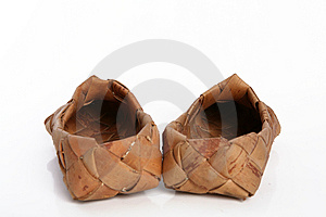 Bast Shoe Royalty Free Stock Photography - Image: 4158057