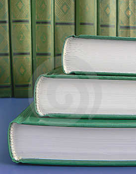 Green Books Stock Photos - Image: 4160563