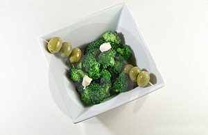 Broccoli Salad Royalty Free Stock Photography - Image: 4168137
