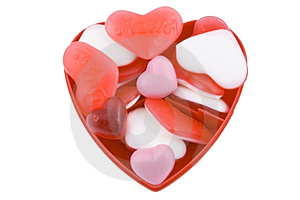 Valentine Candy Royalty Free Stock Photography - Image: 4171747