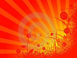 Foliage Abstract Illustration Royalty Free Stock Image - Image: 4171896