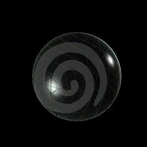 3D Logo Objects Glass Ball Imagenes de archivo - Imagen: 4173194