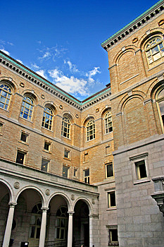 Boston Public Library, Boston Royalty Free Stock Photos - Image: 4174848