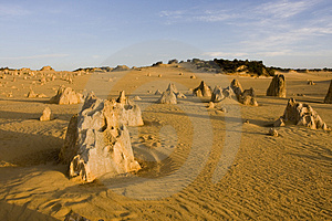 Pinnacles Stock Photos - Image: 4176913