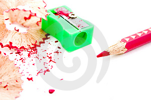 Sharpened Red Pencil Royalty Free Stock Photography - Image: 4177737