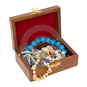 Treasure Chest 2 Stock Photo - Image: 4179090