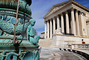 Supreme Court 02 Royalty Free Stock Photo - Image: 4179815