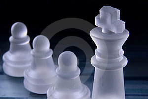 Leadership In Chess Stock Photos - Image: 4180013